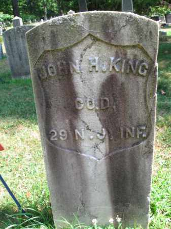 KING, JOHN H. - Essex County, New Jersey   JOHN H. KING - New Jersey Gravestone Photos