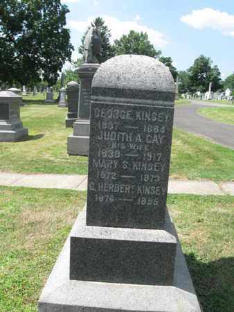 KINSEY, GEORGE - Essex County, New Jersey | GEORGE KINSEY - New Jersey Gravestone Photos