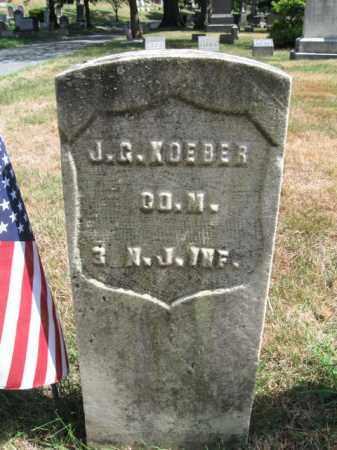 KOEBER, JOHN G. - Essex County, New Jersey | JOHN G. KOEBER - New Jersey Gravestone Photos