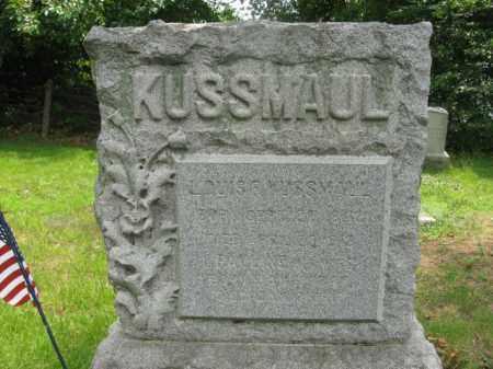 KUSSMAUL (RUSSMAUL), LOUIS F. - Essex County, New Jersey | LOUIS F. KUSSMAUL (RUSSMAUL) - New Jersey Gravestone Photos