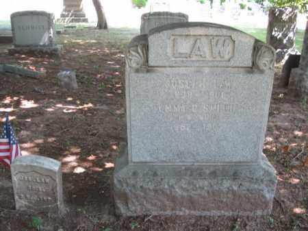 LAW, JOSEPH - Essex County, New Jersey   JOSEPH LAW - New Jersey Gravestone Photos