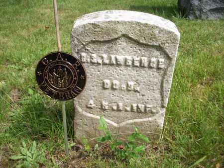 LAWRENCE, OREN (ORRIN) S. - Essex County, New Jersey | OREN (ORRIN) S. LAWRENCE - New Jersey Gravestone Photos