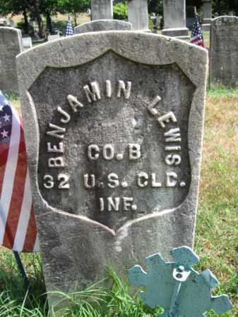 LEWIS, BENJAMIN - Essex County, New Jersey | BENJAMIN LEWIS - New Jersey Gravestone Photos