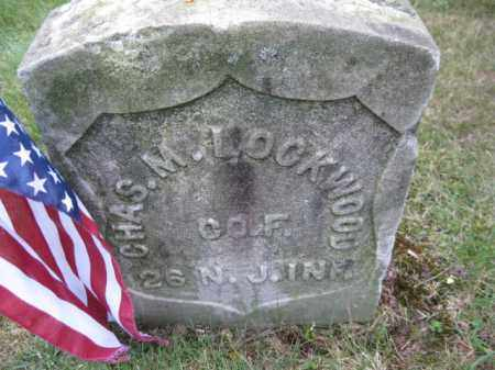 LOCKWOOD, CHARLES M. - Essex County, New Jersey   CHARLES M. LOCKWOOD - New Jersey Gravestone Photos