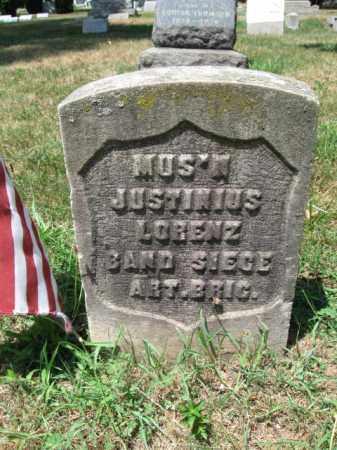 LORENZ, JUSTINIUS - Essex County, New Jersey   JUSTINIUS LORENZ - New Jersey Gravestone Photos