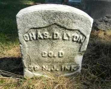 LYON, CHARLES D. - Essex County, New Jersey | CHARLES D. LYON - New Jersey Gravestone Photos