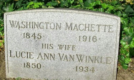 MACHETTE (MACHETT), WASHINGTON - Essex County, New Jersey   WASHINGTON MACHETTE (MACHETT) - New Jersey Gravestone Photos