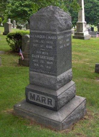 MARR, ALEXANDER C. - Essex County, New Jersey | ALEXANDER C. MARR - New Jersey Gravestone Photos