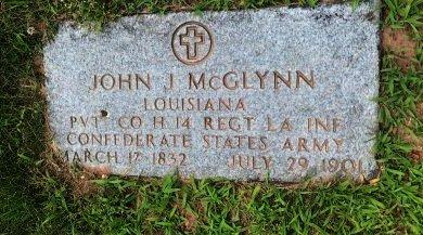 MCGLYNN (CSA), JOHN J. - Essex County, New Jersey | JOHN J. MCGLYNN (CSA) - New Jersey Gravestone Photos