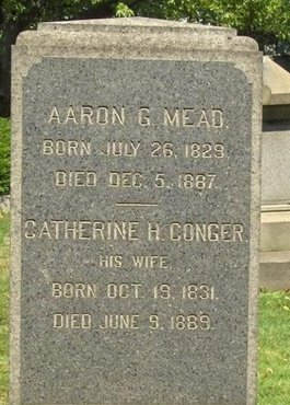 MEAD, AARON G. - Essex County, New Jersey | AARON G. MEAD - New Jersey Gravestone Photos