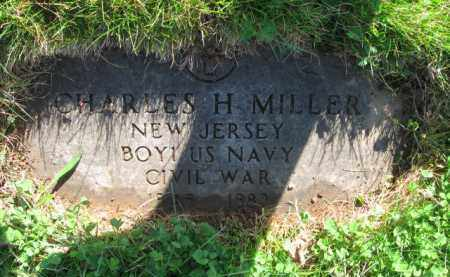 MILLER, CHARLES H. - Essex County, New Jersey | CHARLES H. MILLER - New Jersey Gravestone Photos