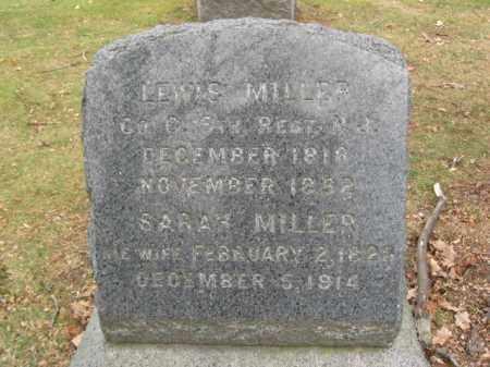 MILLER, LEWIS (LOUIS) - Essex County, New Jersey   LEWIS (LOUIS) MILLER - New Jersey Gravestone Photos