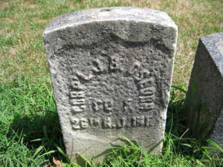 OSBORN, JOSEPH B. - Essex County, New Jersey | JOSEPH B. OSBORN - New Jersey Gravestone Photos