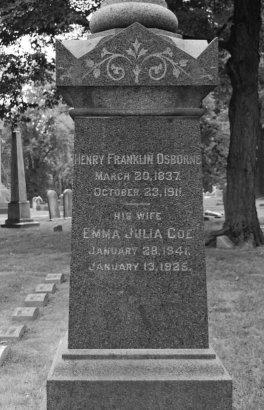 OSBORNE, HENRY FRANKLIN - Essex County, New Jersey | HENRY FRANKLIN OSBORNE - New Jersey Gravestone Photos
