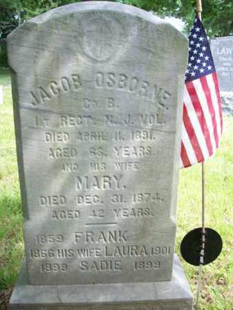 OSBORNE, JACOB - Essex County, New Jersey | JACOB OSBORNE - New Jersey Gravestone Photos