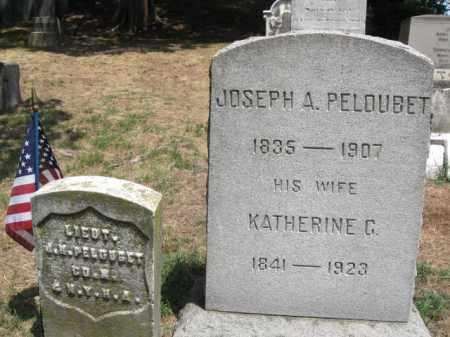 PELOUBET, JOSEPH A. - Essex County, New Jersey   JOSEPH A. PELOUBET - New Jersey Gravestone Photos