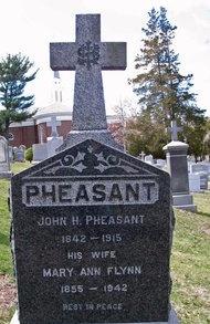 PHEASANT, JOHN H. (D) - Essex County, New Jersey | JOHN H. (D) PHEASANT - New Jersey Gravestone Photos