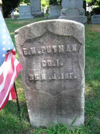 PUTMAN (PUTNAM), ELLIS M. - Essex County, New Jersey | ELLIS M. PUTMAN (PUTNAM) - New Jersey Gravestone Photos