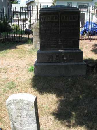 RALL, BENEDICT - Essex County, New Jersey   BENEDICT RALL - New Jersey Gravestone Photos