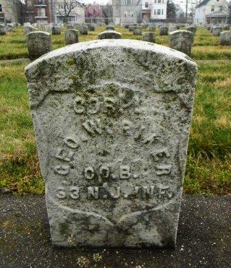 RIKER, GEORGE W. - Essex County, New Jersey   GEORGE W. RIKER - New Jersey Gravestone Photos