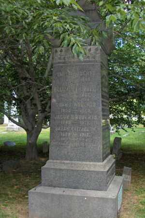 ROBERTS, JACOB V. - Essex County, New Jersey | JACOB V. ROBERTS - New Jersey Gravestone Photos