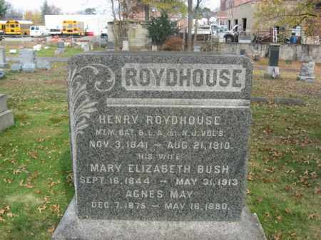ROYDHOUSE, HENRY - Essex County, New Jersey | HENRY ROYDHOUSE - New Jersey Gravestone Photos