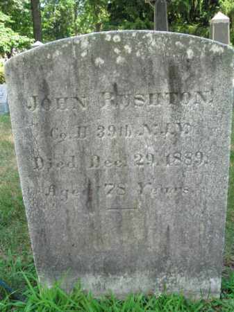 RUSHTON, JOHN - Essex County, New Jersey | JOHN RUSHTON - New Jersey Gravestone Photos