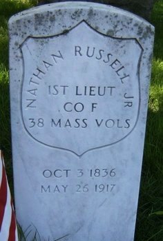 RUSSELL,JR., NATHAN - Essex County, New Jersey   NATHAN RUSSELL,JR. - New Jersey Gravestone Photos