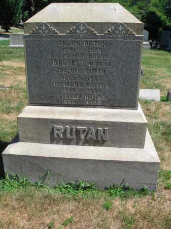 RUTAN, CALVIN - Essex County, New Jersey   CALVIN RUTAN - New Jersey Gravestone Photos