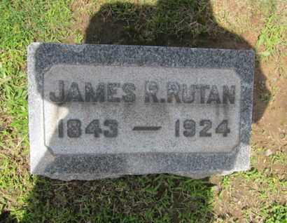 RUTAN, JAMES R. - Essex County, New Jersey | JAMES R. RUTAN - New Jersey Gravestone Photos