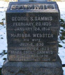 SAMMIS, GEORGE S. - Essex County, New Jersey | GEORGE S. SAMMIS - New Jersey Gravestone Photos