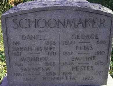SCHOONMAKER, MONROE - Essex County, New Jersey | MONROE SCHOONMAKER - New Jersey Gravestone Photos