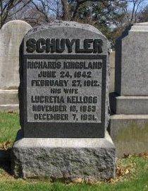 SCHUYLER, RICHARD KINGSLAND - Essex County, New Jersey   RICHARD KINGSLAND SCHUYLER - New Jersey Gravestone Photos