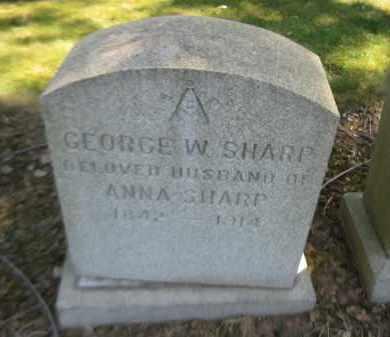 SHARP, GEORGE - Essex County, New Jersey   GEORGE SHARP - New Jersey Gravestone Photos