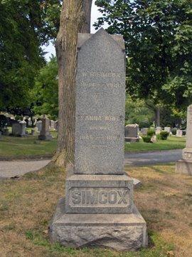 SIMCOX, WILLIAM H. - Essex County, New Jersey | WILLIAM H. SIMCOX - New Jersey Gravestone Photos