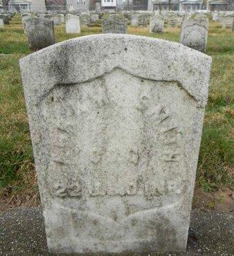 SMITH, ABRAHAM - Essex County, New Jersey | ABRAHAM SMITH - New Jersey Gravestone Photos