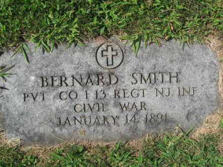 SMITH, BERNARD - Essex County, New Jersey | BERNARD SMITH - New Jersey Gravestone Photos
