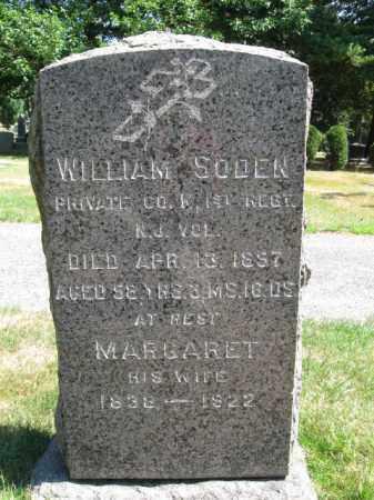 SODEN (SOWDEN), WILLIAM - Essex County, New Jersey | WILLIAM SODEN (SOWDEN) - New Jersey Gravestone Photos