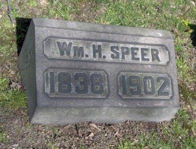 SPEER, WILLIAM H. - Essex County, New Jersey | WILLIAM H. SPEER - New Jersey Gravestone Photos