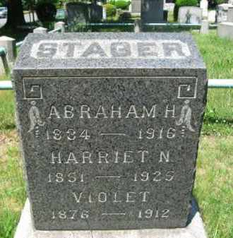 STAGER, ABRAHAM H. - Essex County, New Jersey | ABRAHAM H. STAGER - New Jersey Gravestone Photos
