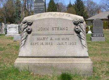 STRANG, JOHN - Essex County, New Jersey   JOHN STRANG - New Jersey Gravestone Photos