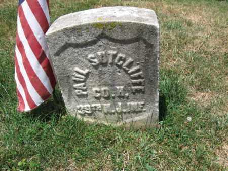 SUTCLIFFE, PAUL - Essex County, New Jersey   PAUL SUTCLIFFE - New Jersey Gravestone Photos