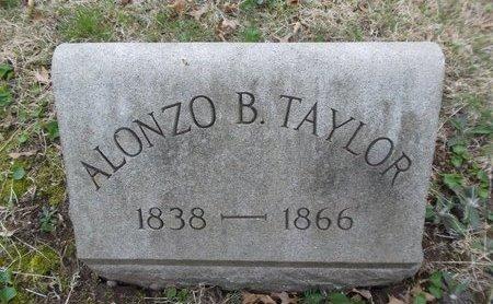 TAYLOR, ALONZO B. - Essex County, New Jersey | ALONZO B. TAYLOR - New Jersey Gravestone Photos