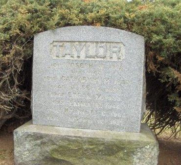 TAYLOR, EDGAR  M. - Essex County, New Jersey | EDGAR  M. TAYLOR - New Jersey Gravestone Photos