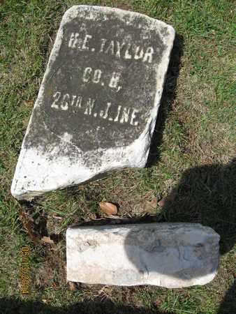 TAYLOR, HORACE E. - Essex County, New Jersey | HORACE E. TAYLOR - New Jersey Gravestone Photos