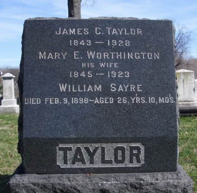 TAYLOR, JAMES C. - Essex County, New Jersey | JAMES C. TAYLOR - New Jersey Gravestone Photos