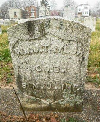 TAYLOR, WILLIAM J. - Essex County, New Jersey   WILLIAM J. TAYLOR - New Jersey Gravestone Photos