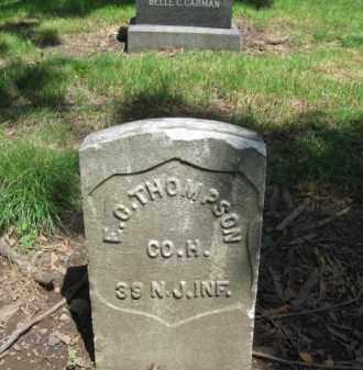 THOMPSON, EDWARD C. - Essex County, New Jersey | EDWARD C. THOMPSON - New Jersey Gravestone Photos