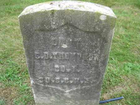 THOMPSON, SEYMOUR D. - Essex County, New Jersey | SEYMOUR D. THOMPSON - New Jersey Gravestone Photos
