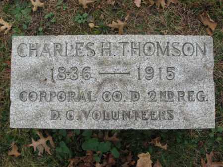 THOMSON (THOMPSON), CHARLES H. - Essex County, New Jersey | CHARLES H. THOMSON (THOMPSON) - New Jersey Gravestone Photos